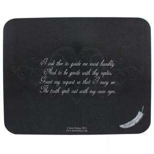 Placa Ouija Spirit Board Ruga pentru cei cazuti - Anne Stokes