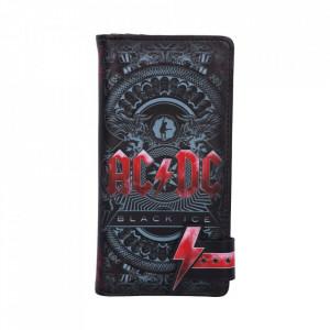 Portofel lung embosat AC/DC - Black Ice 18.5 cm