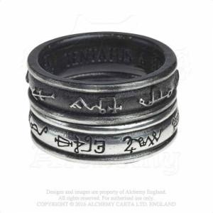 Set inele Negru Demon si Alb Inger (N-W)