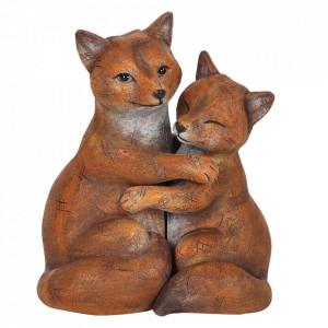 Set statuete Familia de Vulpi - Noi impotriva lumii