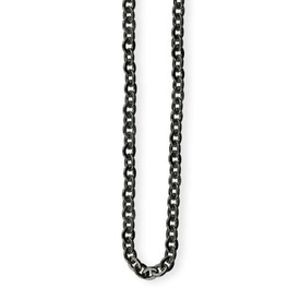 stainless steel necklace with plaiting