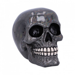 Statueta craniu Holographic 16.5cm