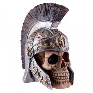 Statueta craniu Roman Legionar 16cm
