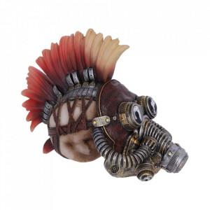 Statueta craniu steampunk Flame Hawk 23cm