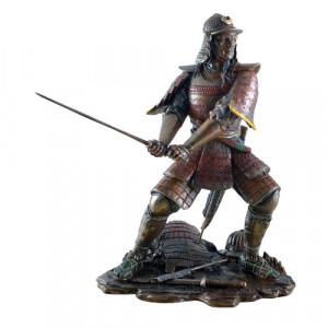 Statueta finisaj bronz Samurai