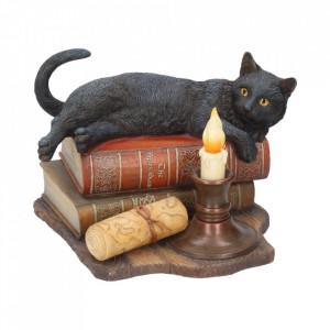 Statueta pisica Ora vrajitoarelor 20.5 cm Lisa Parker
