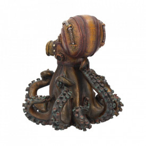 Statueta steampunk Octo-steam 15 cm
