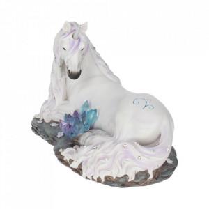 Statueta unicorn cu cristale Liniste