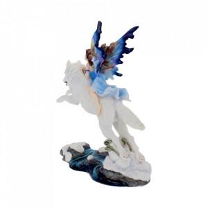 Statueta zana si lup Spirit liber 23.5 cm