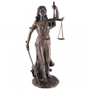 Statueta zeita dreptatii Themis ( Justitia) 35cm