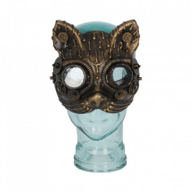 Steampunk Kinetic Kitten Mask