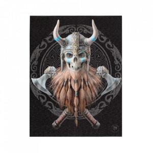 Tablou canvas, Vikingul, 19x25cm - Anne Stokes