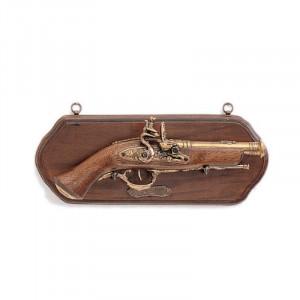 Panoplie lemn cu pistol Terzetta