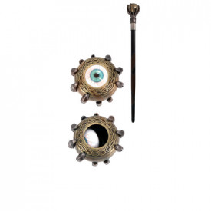 Baron's eye decorative walking stick