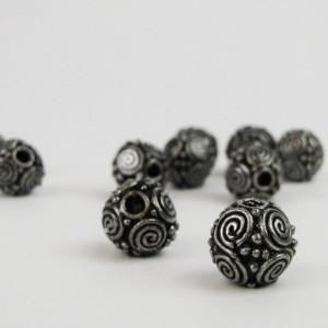 Bijuterii vikinge pentru barba/par Spirale