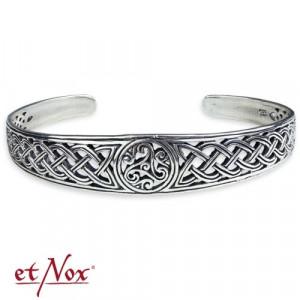 Bratara argint fixa bangle Triskelion Celtic A7000