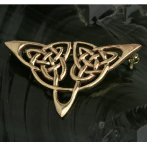 Brosa bronz Nod Celtic