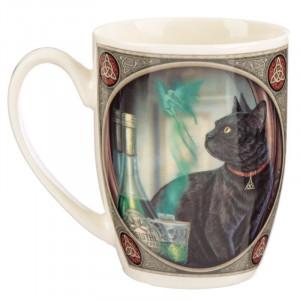 Cana din portelan pisicuta Absinthe - Lisa Parker