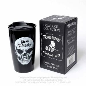 Cana termos cu capac pentru cafea Dead Thirsty