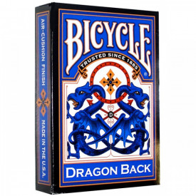 Carti de joc Bicycle Blue Dragon