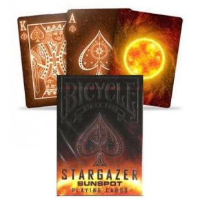 Carti de joc Bicycle Stargazer Soare