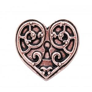 Cercei steampunk Inimă de Valkyrie