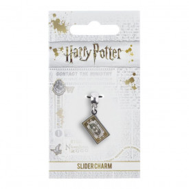 Charm placat argint licenta Harry Potter Hogwarts Express Ticket