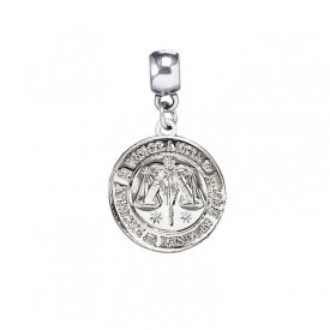 Charm placat argint licenta Harry Potter - Ministerul Magiei