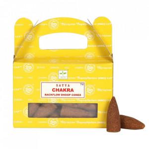 Conuri parfumate backflow Satya - Chakra