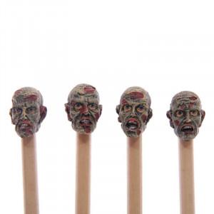 Creion cu Cap de Zombi 19 cm