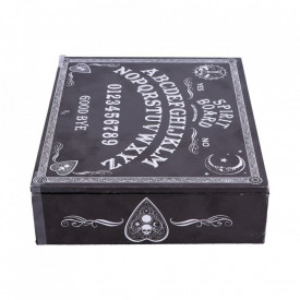 Cutie bijuterii cu oglindă și compartimente Spirit board ( Negru)