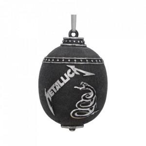 Decorațiune pentru bradul de Craciun - Metallica Black Album 10cm
