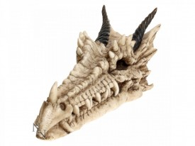 Draco Skull Incense Holder 24cm