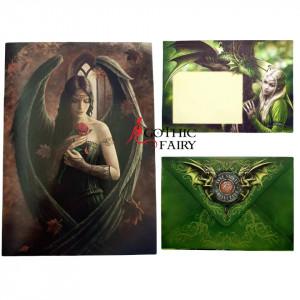 Felicitare inger gotic Angel Rose - Anne Stokes