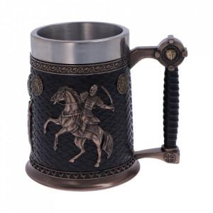 Halba medievala Cavalerii Templieri 16 cm
