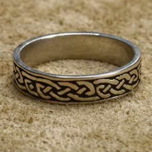 Inel argint Nod Celtic