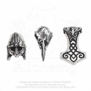 Jewelry Set for beard/hair - Norsebraid
