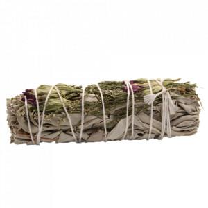 Manunchi de Salvie Alba pentru fumigatii - Serene Aura 10cm