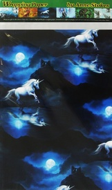 Moonlight Unicorn Wrapping Paper