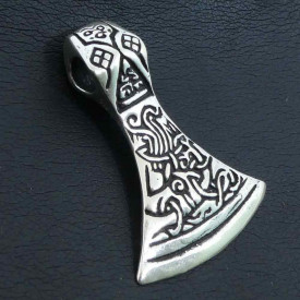 Pandantiv argint Topor 4.5cm