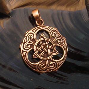 Pandantiv bronz Nod Celtic