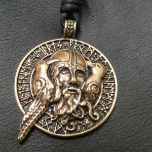Pandantiv bronz Odin