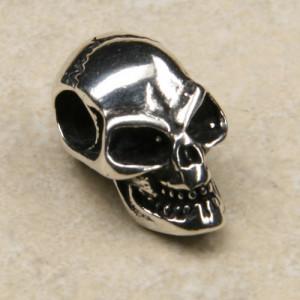 Pandantiv talisman Craniul norocos - argint