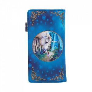 Portofel embosat zana si unicorn Fairy Whispers - Lisa Parker 19 cm