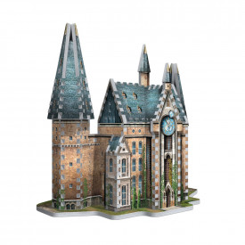 Puzzle 3D 420 piese licenta Harry Potter Hogwarts - Clock Tower