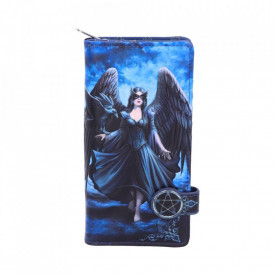 Raven Embossed Purse (AS) 18.5cm