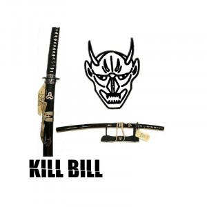 Sabie decorativa katana cu suport - Kill Bill