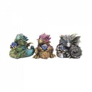 Set 3 statuete Darul dragonilor 7 cm