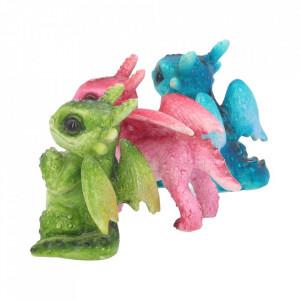 Set 3 statuete Puisori de dragoni 6.5 cm
