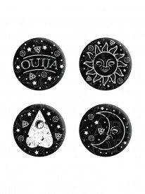 Set 4 insigne Ouija Board
